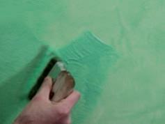 Applicare il prodotto con il pennello KARMA