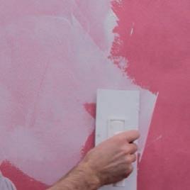 applicare il secondo colore di TAHITI a macchie, utilizzando il pennello KARMA